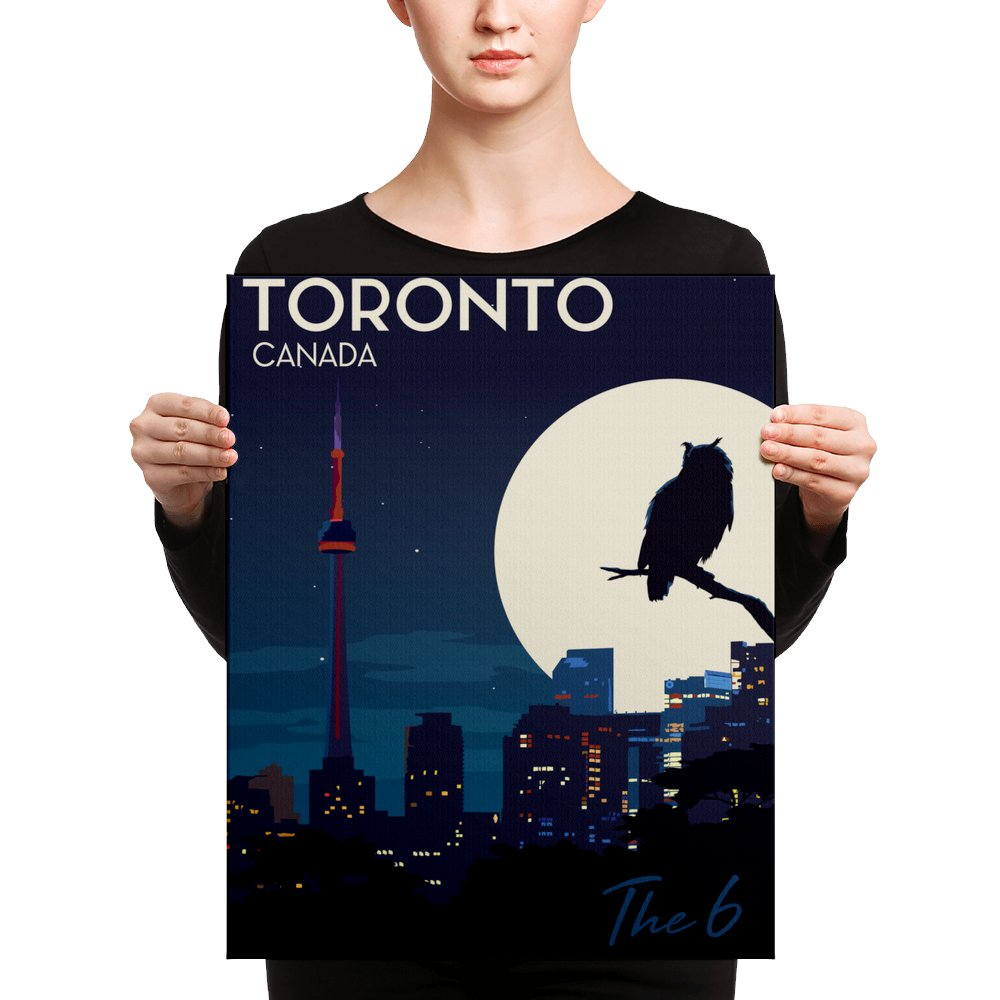 """Retweet and Follow to enter our monthly #vintage #travel #poster #giveaway  #Toronto Canada 