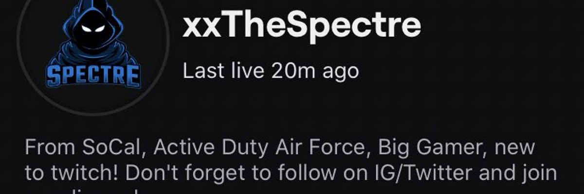 Streamer Spotlight is up over at  homepage, right now it's xTheSpectre @xTheSpectre   Go NOW!!!, Currently Playing #Dota2 #Dota #Veteran  #twitch #StreamersConnected #streamer #StreamersUnite