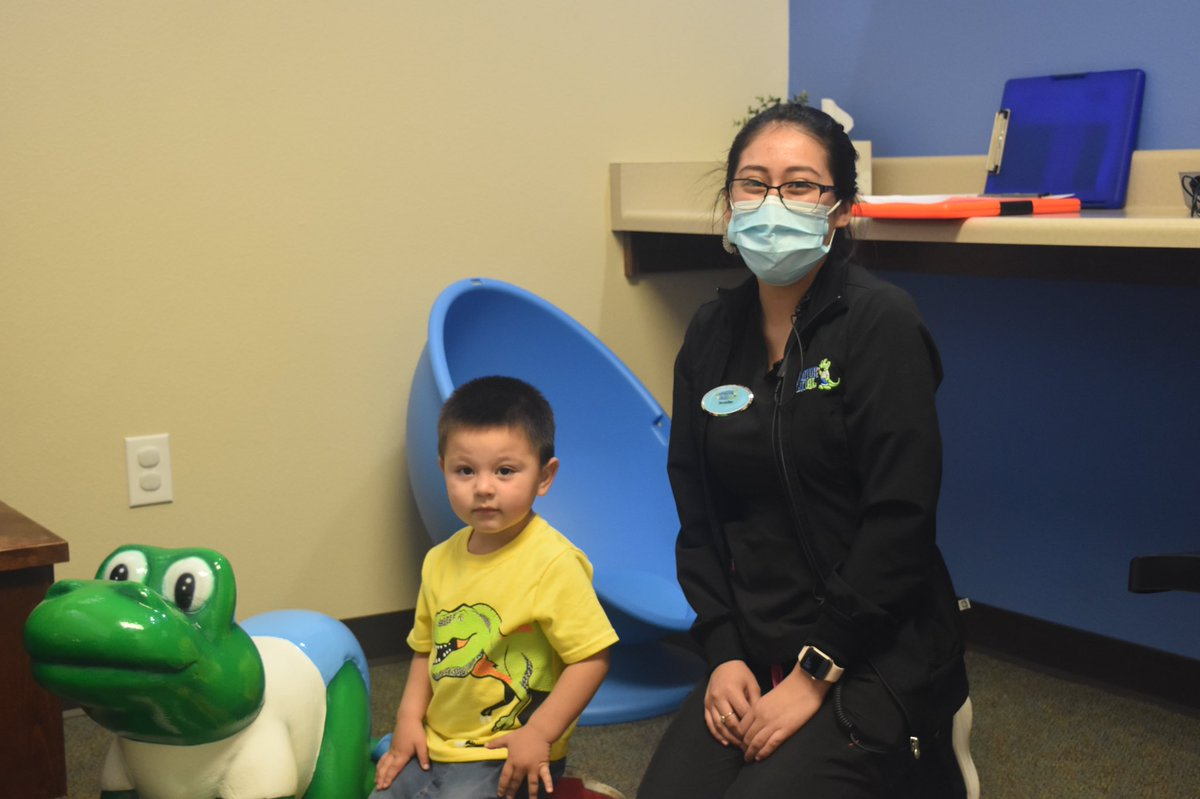 Fred had a great visit in the Baby Room!  #smile #alligatordental #SanMarcos