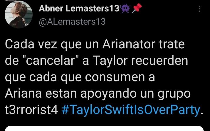 @Likip_mx Y qué me dices de los swifties? #TaylorSwiftIsOverParty
