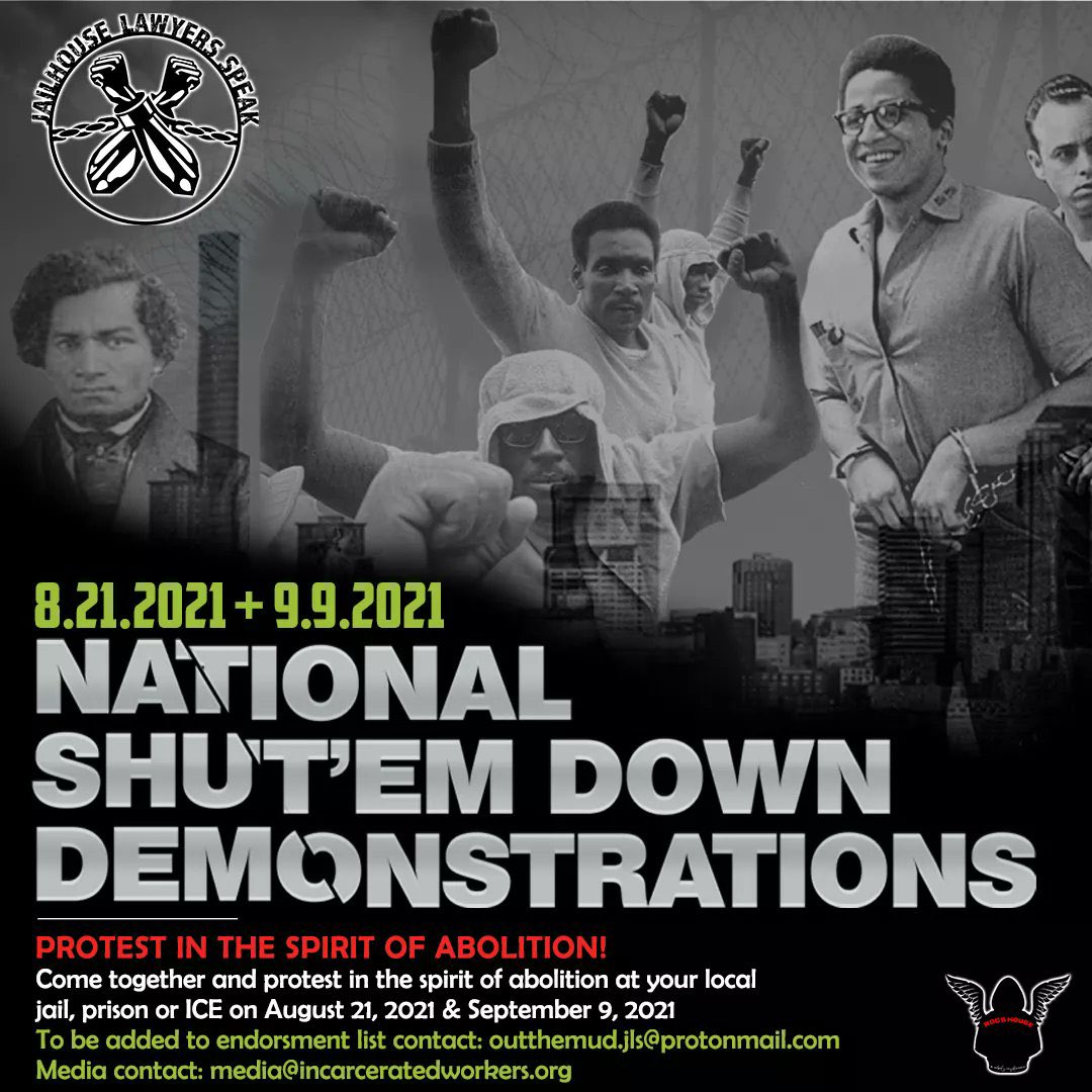 To anyone in #Lehigh Valley/SE #PA, August 21st and September 9th are national days of #Abolition action!! HMU if you are in the area!! #ACAB #AbolishThePolice #fuck12 #burnallprisons