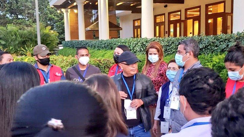 FMLN advierte sobre posible retiro del escrutinio final