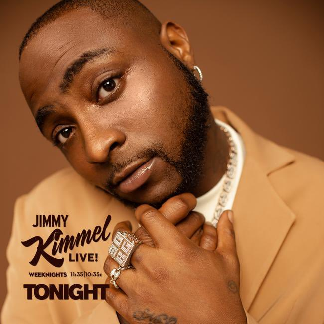Jimmy Kimmel Tonight! The takeover continues! 🇳🇬🇺🇸 https://t.co/hv2rfWhOmx
