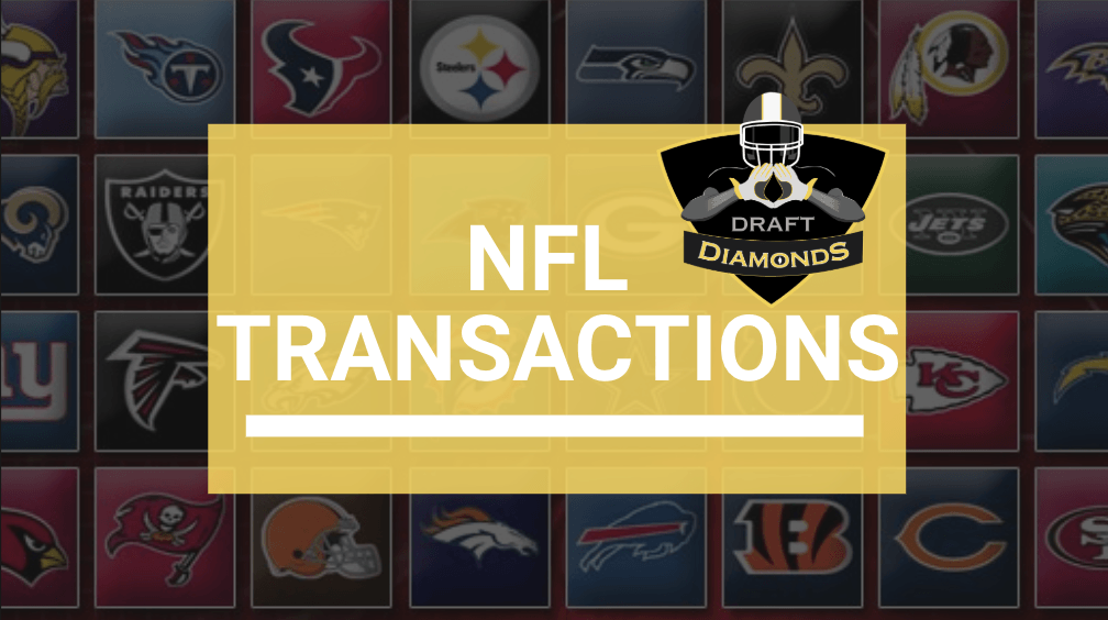 ICYMI:NFL Transactions for March 2, 2021 | Daily Workouts, Signings and Roster Cuts  #NFL #NFLDraftNews
