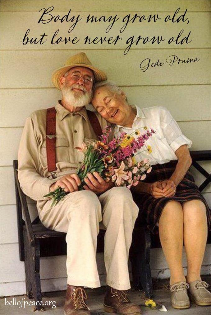 Body may grow old... #Peace #gedeprama #bali #beauty #happy #healthy #holy #innerharmony #JoyTrain  Photo courtesy: Pinterest
