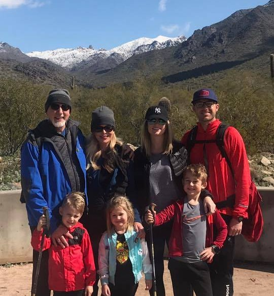 Hiking with family 2 years ago at the the McDowell Sonoran Preserve! #blessed #grateful #mcdowellsonoranpreserve #family #hiking #memories #fun #outdoors #happiness #joy #tuesdaythoughts