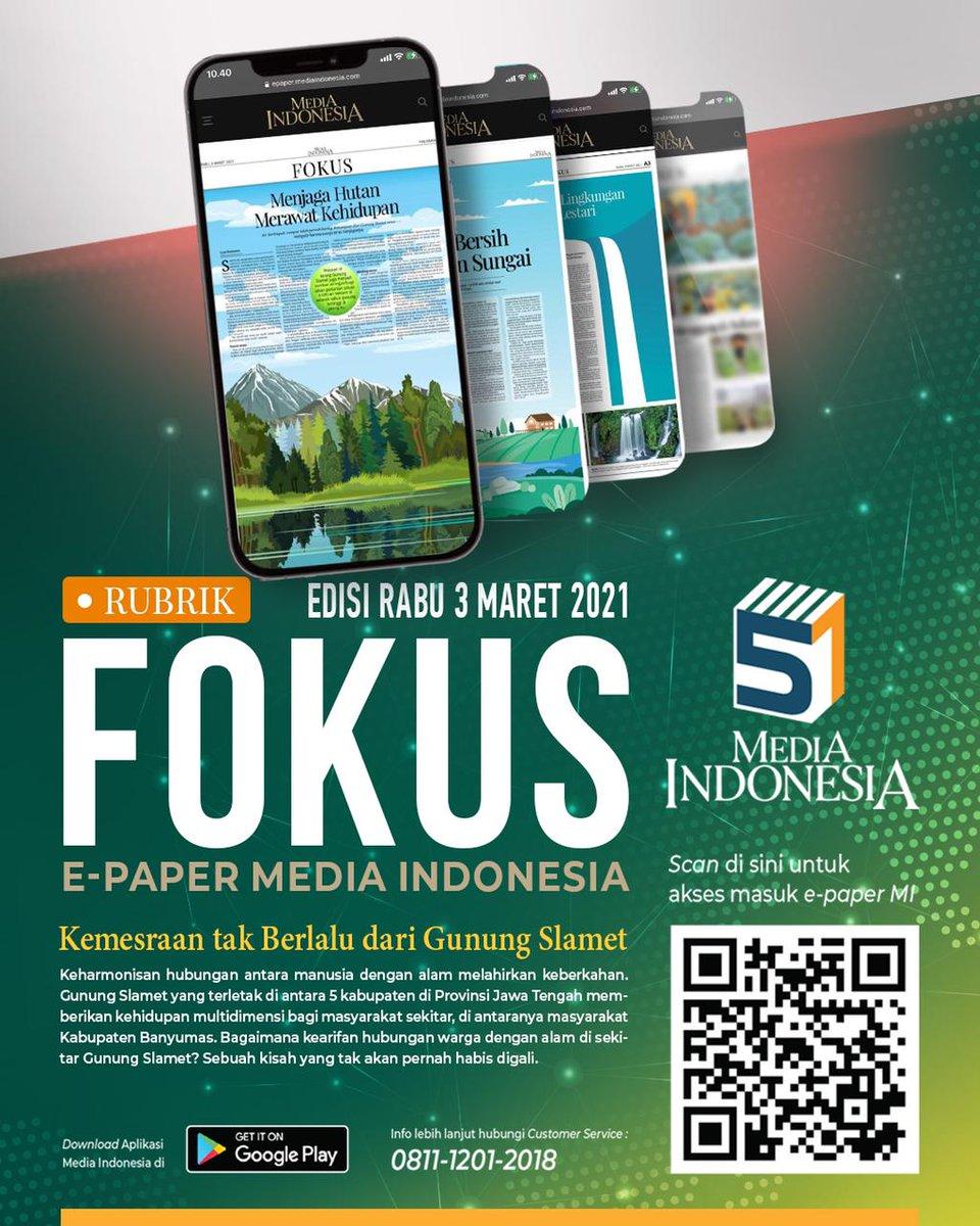 Scan QR Code / ketik link  sekarang juga.  Hubungi Customer Service MI 0811 1201 2018 untuk informasi lebih lanjut.  #mediaindonesia @mediaindonesia
