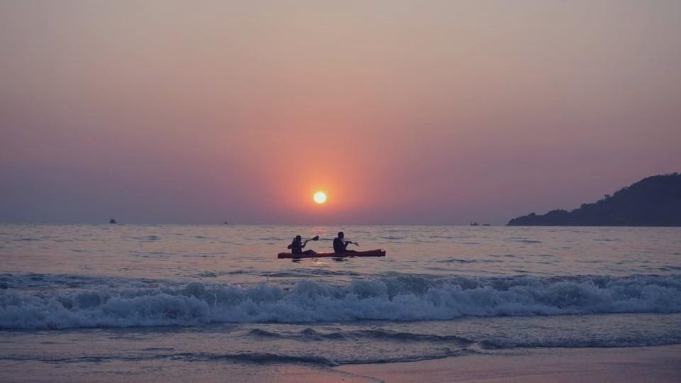 Palolem Beach 🏖- South #Goa  #TravelwithDK