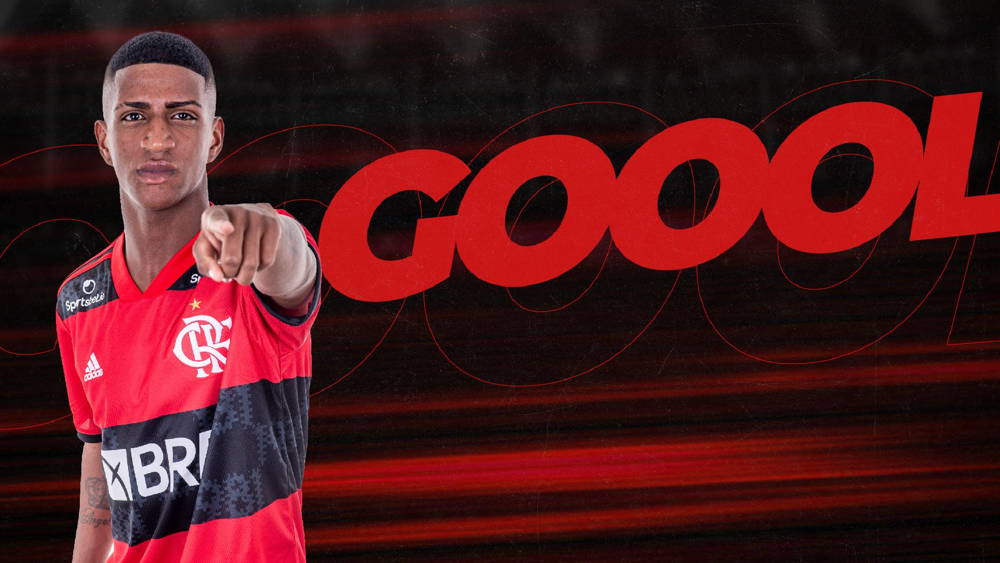 GOOOOOOOOOOOOOOL! Max abre o placar para o Flamengo