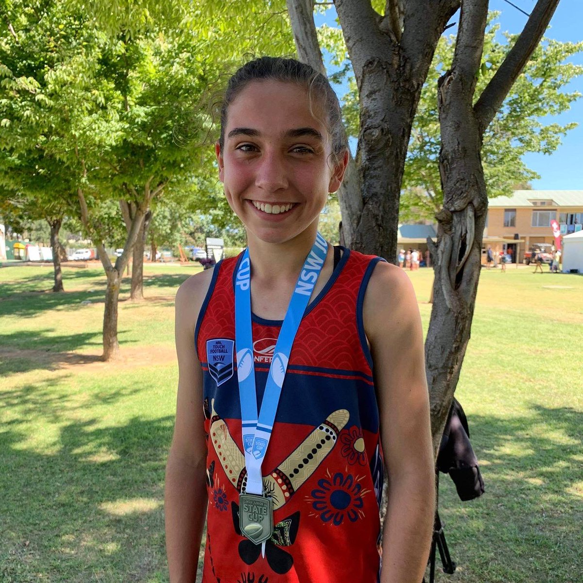 Congratulations to Year 9 student Elise who is achieving big things in Touch Footy.  This past weekend, she represented the ACT U/16 Girls team at the Touch Football NSW Junior State Cup.  Her team made it all the way to the Grand Final narrowly losing 8-7 in a nail-biter.