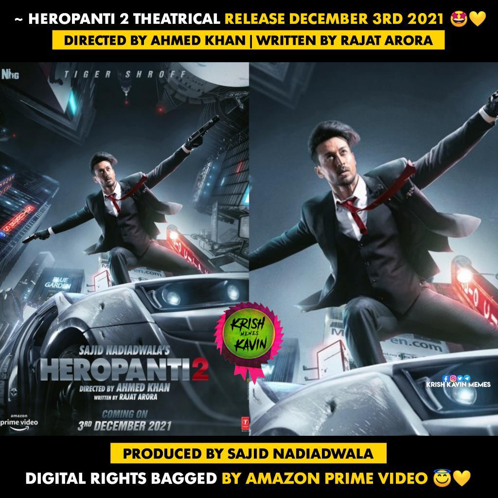 #Heropanti2 #TigerShroff #AhmedKhan #RajatArora #SajidNadiadwala #Bollywood #HindiMovie .  .  @iTIGERSHROFF