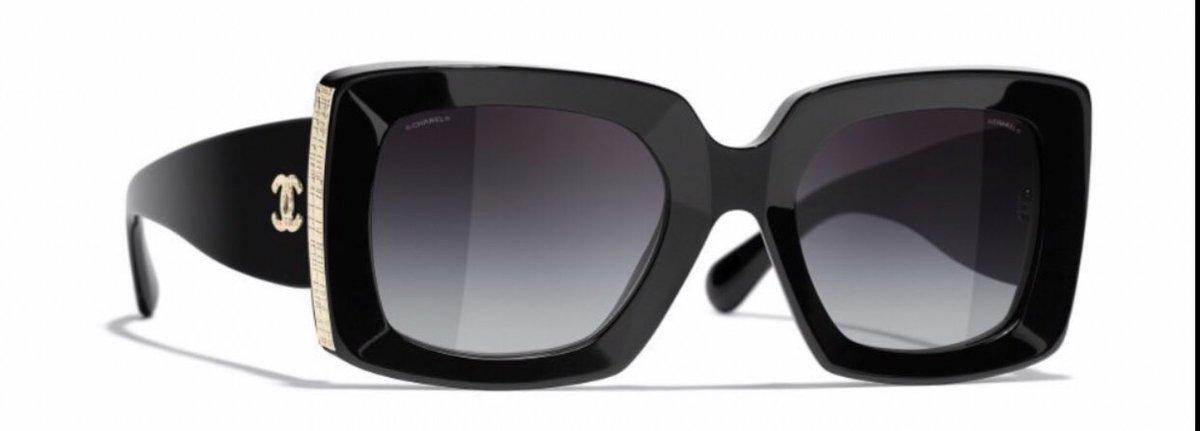 Enamorada de estas gafas Chanel.