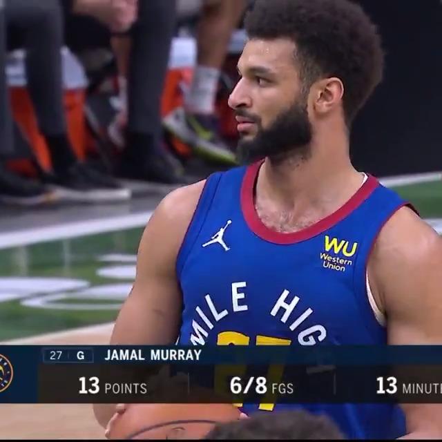 Jamal is a walking, talking, breathing meme #NBA #MileHighBasketball