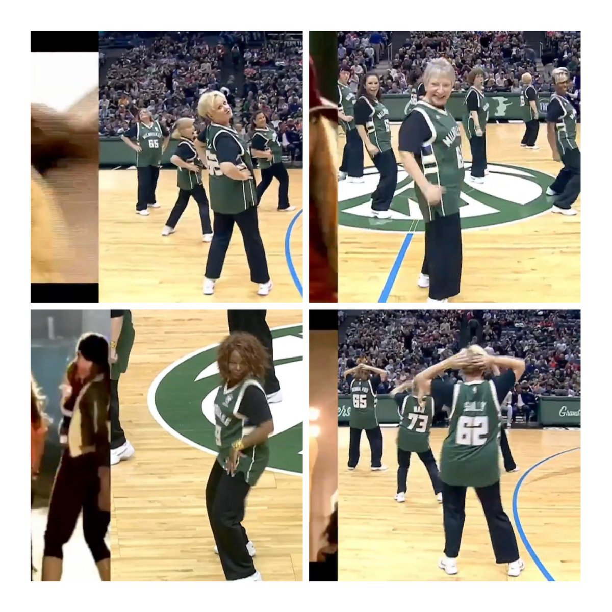 @nuggets fans, it looks like COVID budget cuts have now made it to @Bucks halftime shows #NBA What did I just watch?...
