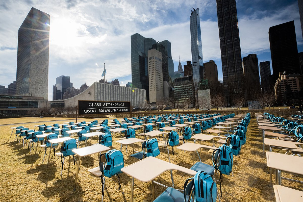"""test Twitter Media - #UNICEF has set up a """"pandemic classroom"""" at #UN headquarters as 168 million students globally have missed school for almost a year. It has called for the governments' attention to prioritize reopening schools.   more: https://t.co/hhYzG6yds6 https://t.co/6EcN0zsJzH"""