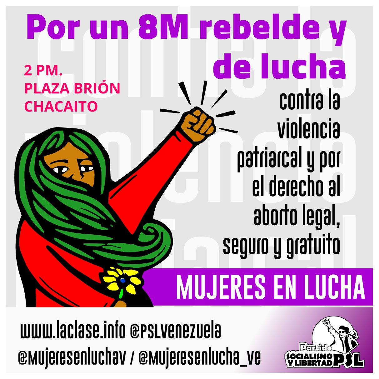 @MujeresenluchaV