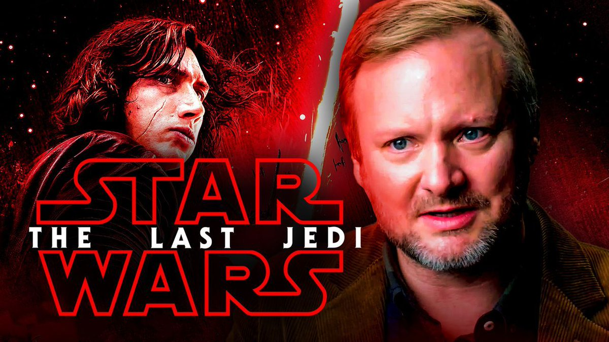 """Director #RianJohnson has admitted that, while developing #StarWars: #TheLastJedi, he """"did not"""" know that #KyloRen / #BenSolo would die at the end of the sequel trilogy... Details:"""