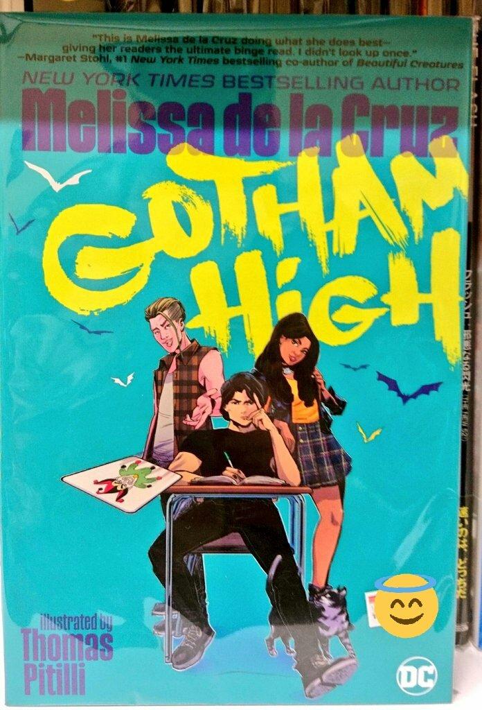 Replying to @ComicsZoneJP: 本日もオープン! 17才のブルース・ウェインの学園生活を描くグラフィックノベル「Gotham High」が入荷しましたー! 本日も皆様のお越しをお待ちしております