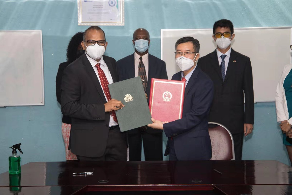 test Twitter Media - #Guyana on Tuesday received the first batch of COVID-19 vaccine doses developed by Chinese pharmaceutical firm #Sinopharm. https://t.co/rEnui4pMHV