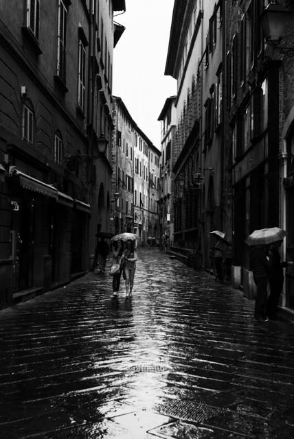 Lucca #Tuscany #Italy #BlackandWhite #Photography #Travel