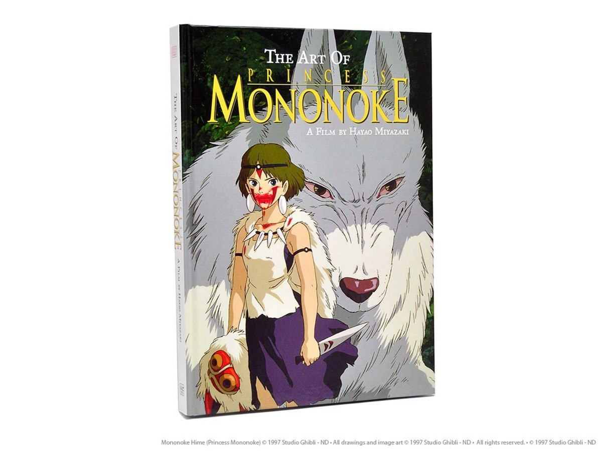 The Art of Princess Mononoke hardcover book is $19.54 on Amazon (44% off, 224 pages)