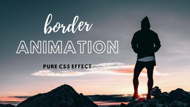 CSS3 Border Animation  Video:   #frontend #FrontEndDevelopment #html #HTML5 #CSS #CSS3 #javascript #jQuery #webdevelopment #webdeveloper #webdevelopers #webdev #Coding #uidesign #webdesign #FrontEndLove #100DaysOfCode #CSS #Frontend