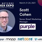 Image for the Tweet beginning: Scott Cohen, Senior Email Marketing