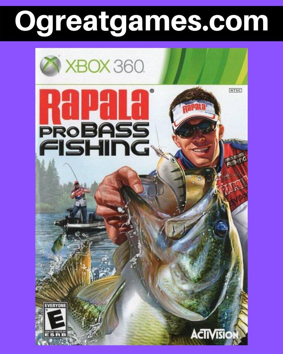 Retweet if you adored Rapala Pro Bass Fishing 2010!  #rt #microsoft #gaming #xbox360 #fun