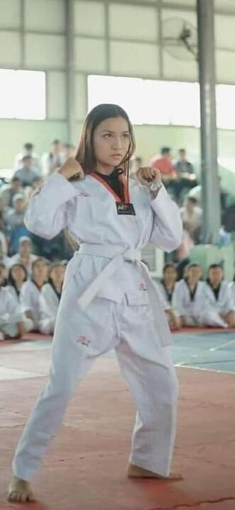 TW:Blood ,Dead  A 19 yrs old Taekwondo girl sacrificed her life in Mar 3 anti-coup protest at Mandalay. She was head shot by a sniper from Junta's terrorists group.  May she rest in peace!!!  JUSTICE FOR MYANMAR  #WhatsHappeningInMyanmar #Mar3Coup