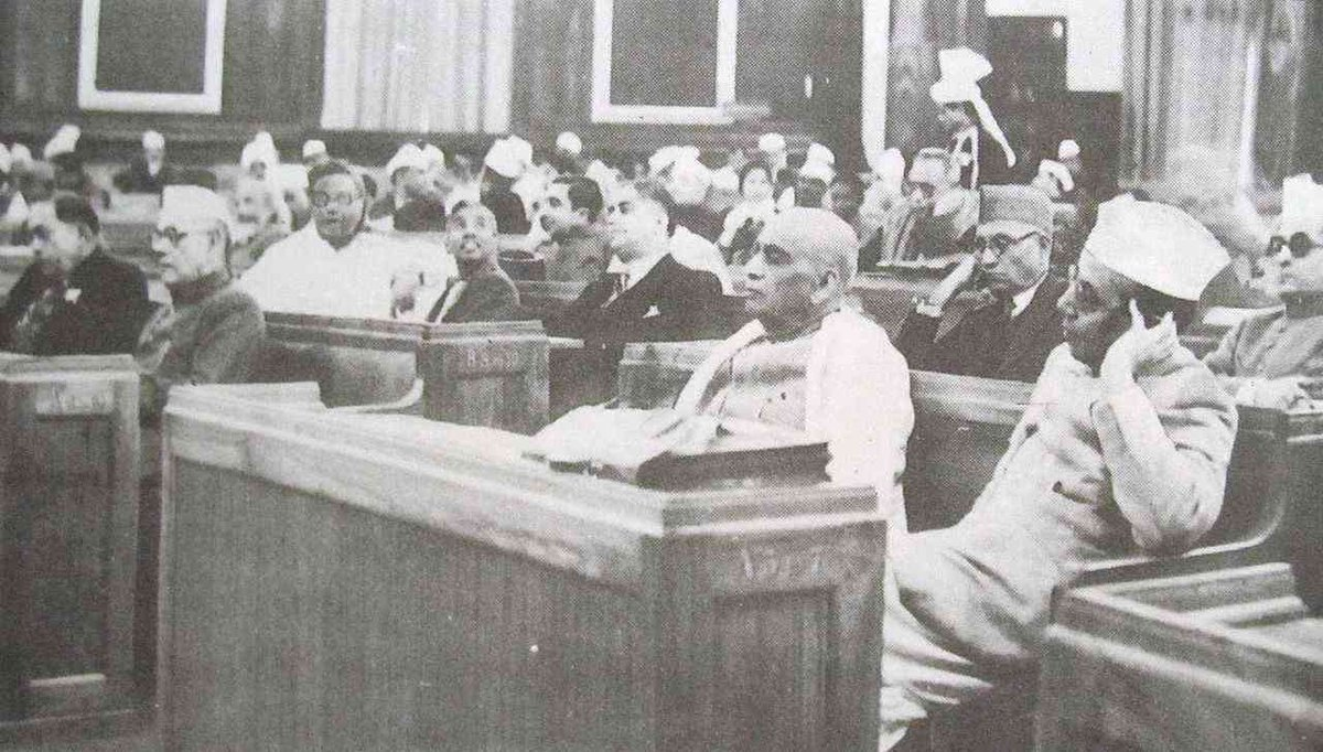 Constituent Assembly: Objective Resolution, Historical Background and Critics of Constitution  See: https://t.co/dMJ4xXav7j  #isrgrajan #WednesdayMotivation #ConstituentAssembly #Constitution #IndianPolitics #PoliticalScience https://t.co/QVoJYKK2Iz