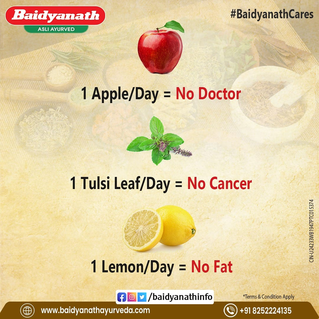 Make health your priority with these healthy habits. Lead a healthy life with Baidyanath!  #BaidyanathCares #baidyanath #baidyanathayurveda #health #healthtips #stayhealthy #healthyindia