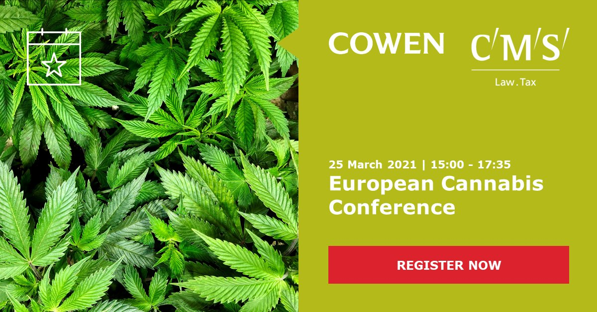 test Twitter Media - Our virtual #EuropeanCannabisConference – in collaboration with @Cowen_Inc – is taking place on 25 March. Over several panel discussions we will deal with hot topics of the growing cannabis sector. Find the complete programme on our website: https://t.co/6vp8GIb9ri https://t.co/hAp0x38FIF