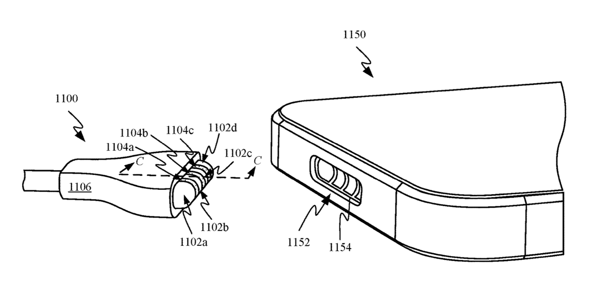 MagSafe Charging Port for iPhone Appears in Apple Patent https://t.co/PvE0Yks3bp $AAPL https://t.co/2pgZa1tgBj