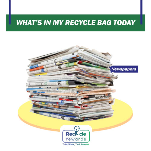 #newspapers are widely stored to be given away as a #recyclable. Book a Collection pickup with us and get your #drywaste collected. Download our #RecycleRewards App NOW. #WasteManagement #SwachhBharat #cleanindia *Note - Currently pickup service is available only at 380058.