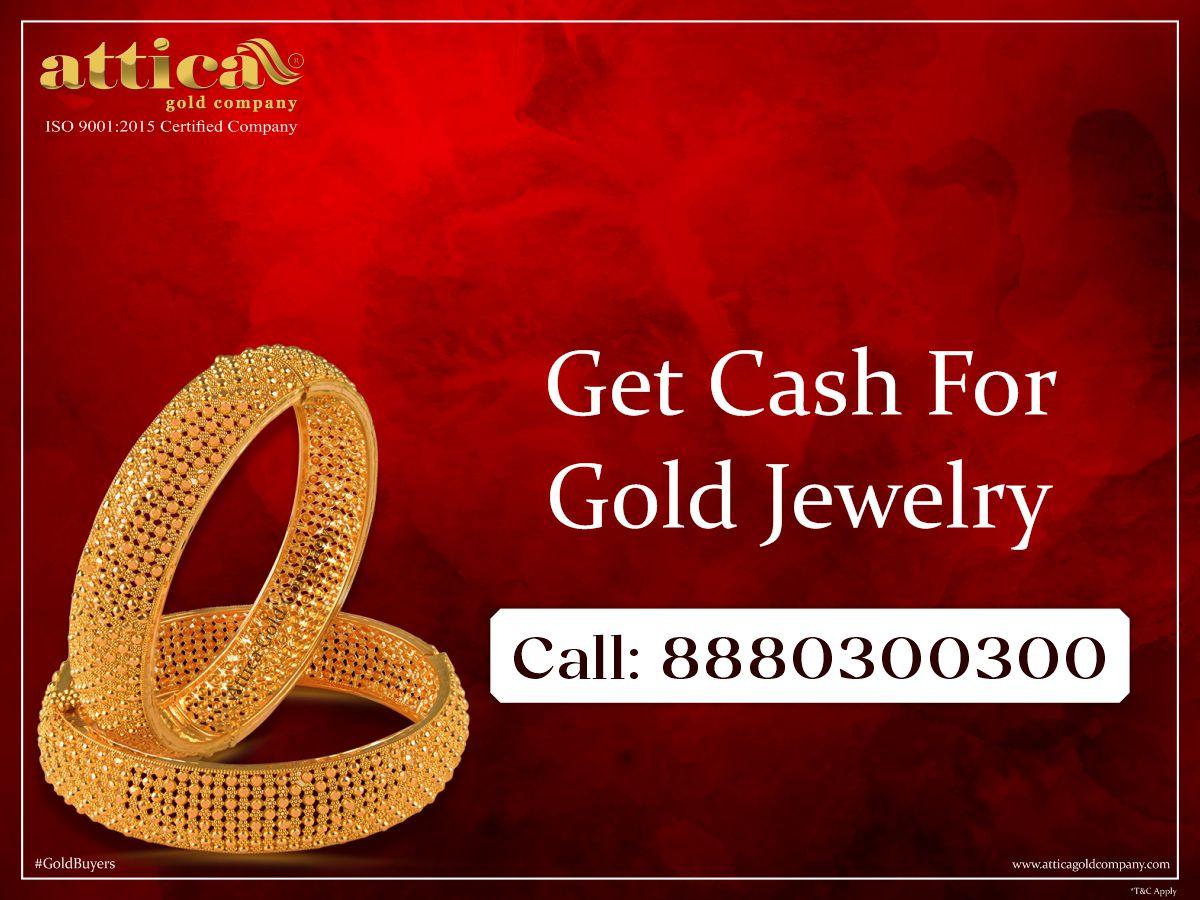 Get Cash for Gold Jewelry  Call: 8880300300 Website:  #atticagoldcompany #Bangalore #Tamilnadu #Karnataka #Andhra #Telangana #gold #goldbuyers #goldrate #goldpricetoday #sellgold #instantcashforgold #goldjwellery #innovation #socialmedia #FridayFeeling
