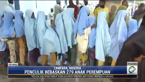 Sebanyak 279 siswi di Nigeria Utara yang sempat diculik pria bersenjata pada pekan lalu telah dibebaskan. Mereka kini berada di gedung pemerintahan negara bagian Gusau dalam kondisi sehat. #TopNewsMetroTV #KnowledgeToElevate