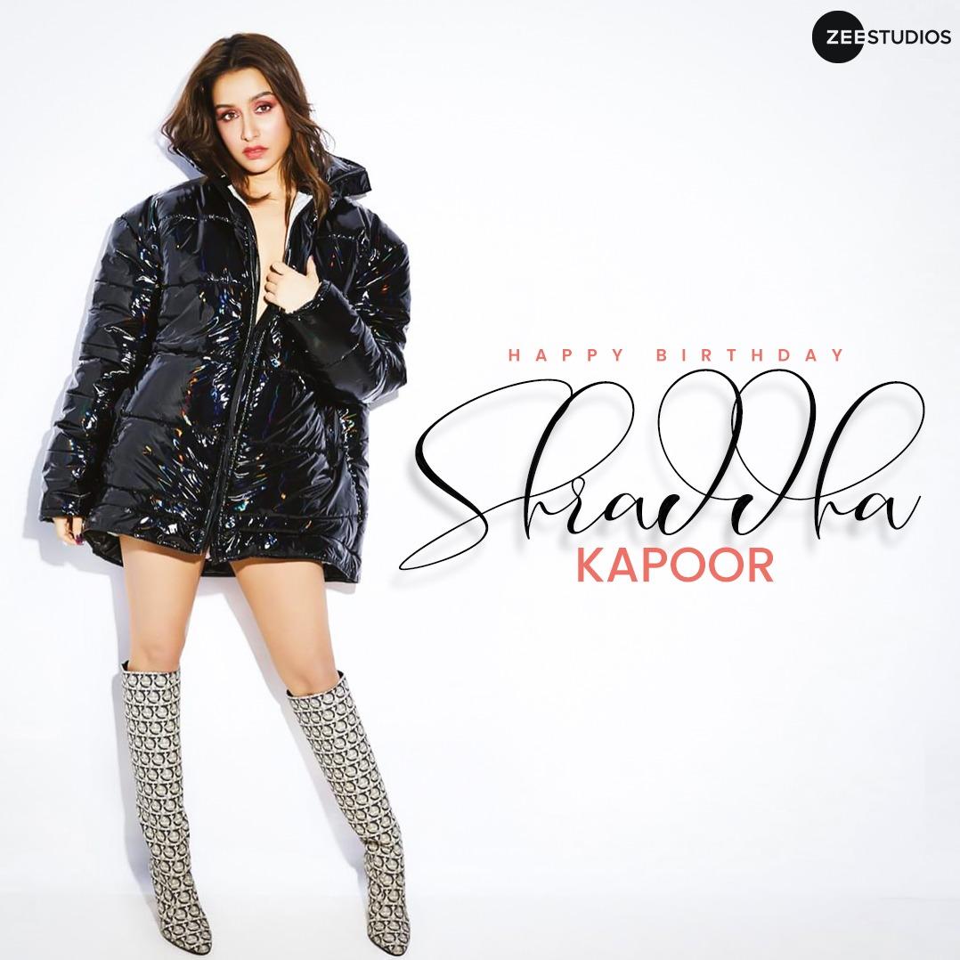 To the diva who is full of elegance.  Wishing @ShraddhaKapoor  a very happy birthday. 🎁  #HappyBirthdayShraddhaKapoor