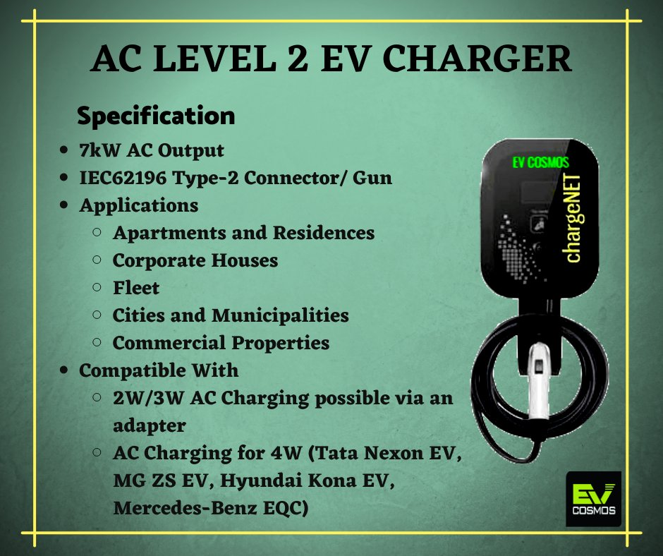 Learn more about the Electric Vehicle Charging Technology adopted in India. for more information visit   #evcosmos #chargenet #emobility #ev #evcharging #chargingtechnology  #greenindia #renewableenergy #LearnMore
