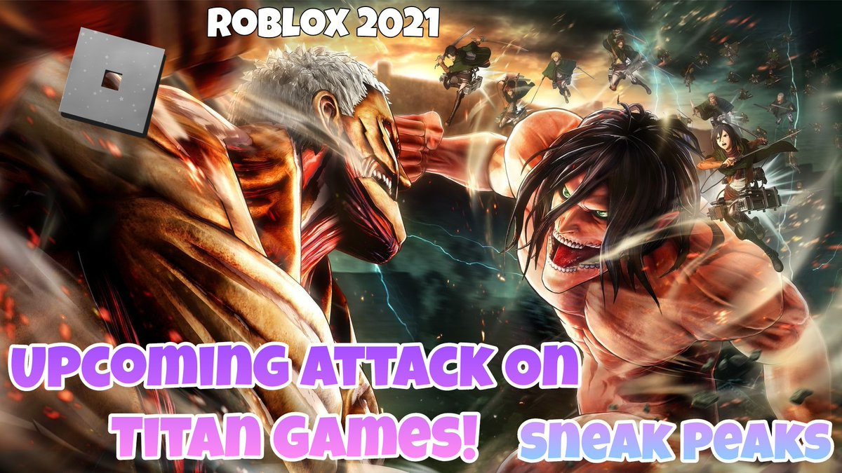 Upcoming Videos today! The future of Roblox anime games  Attack On Titan Video & a demon Slayer video :DD  YouTube Channel Link:   #AttackOnTitan  #DemonSlayer  #kimetsunoyaiba  #ShingekiNoKyojin  #anime #weeb #CherishGabby #Roblox  #RobloxDevs