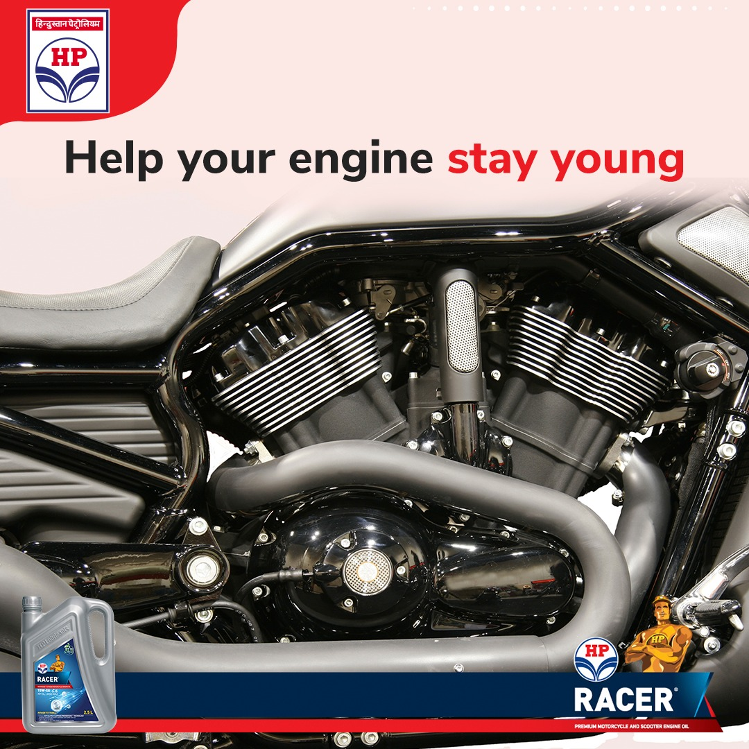 The advanced chemistry of #HPRacer protects the engine against wear and keeps it clean from the inside. Therefore, ensuring that the engine stays healthy for a longer time. #BikeEngine #Engine #Bikes #Biker