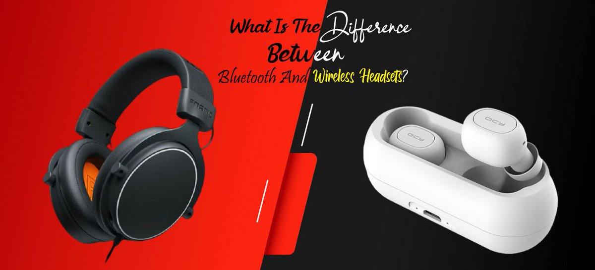 What is the Difference Between Bluetooth and Wireless Headsets for more information click 👇👇👇  https://t.co/ga1BvnFsHL  #bluetooth #Wireless #headsets #pcgaming #gamingpc #VoIP #usb #gadgets #tech #technology https://t.co/xYKkz9I9O5
