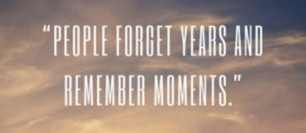 "☀️ Good Morning PE World! Daily Motivation: ""People forget years and remember moments."" #motivational #Motivation #tuesdaymotivations #TuesdayFeeling #tuesdayvibe"