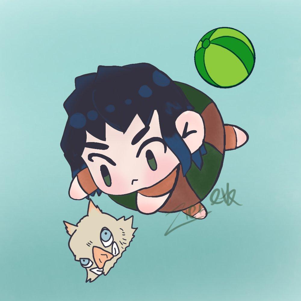 อิโนะสุเกะ กับหัวหมูของเขา หัวหมูดูวาดง่ายแต่คือลบๆวาดๅหลายรอบมาก5555 #kimetsunoyaiba #DemonSlayer  #ดาบพิฆาตอสูร