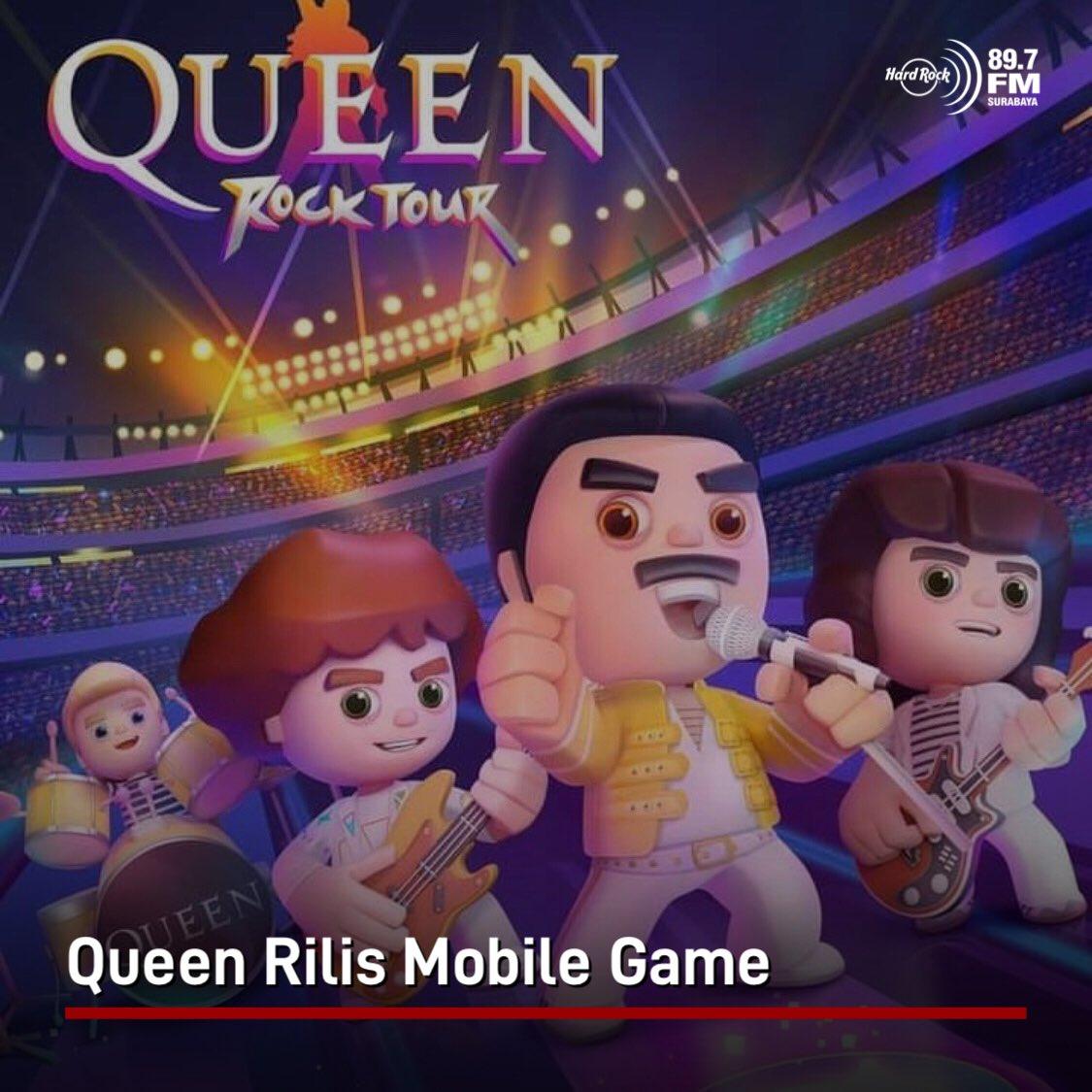 #HRFMNews Queen merilis game pertamanya yang berjudul Queen: Rock Tour untuk platform Android dan iOS.  Game ini bakal ngajak pemain buat nostalgia sama tur dan momen ikonik Queen, sambil menyelesaikan 20 lagu-lagu hits & bisa milih venue yang pernah menjadi lokasi konsernya.