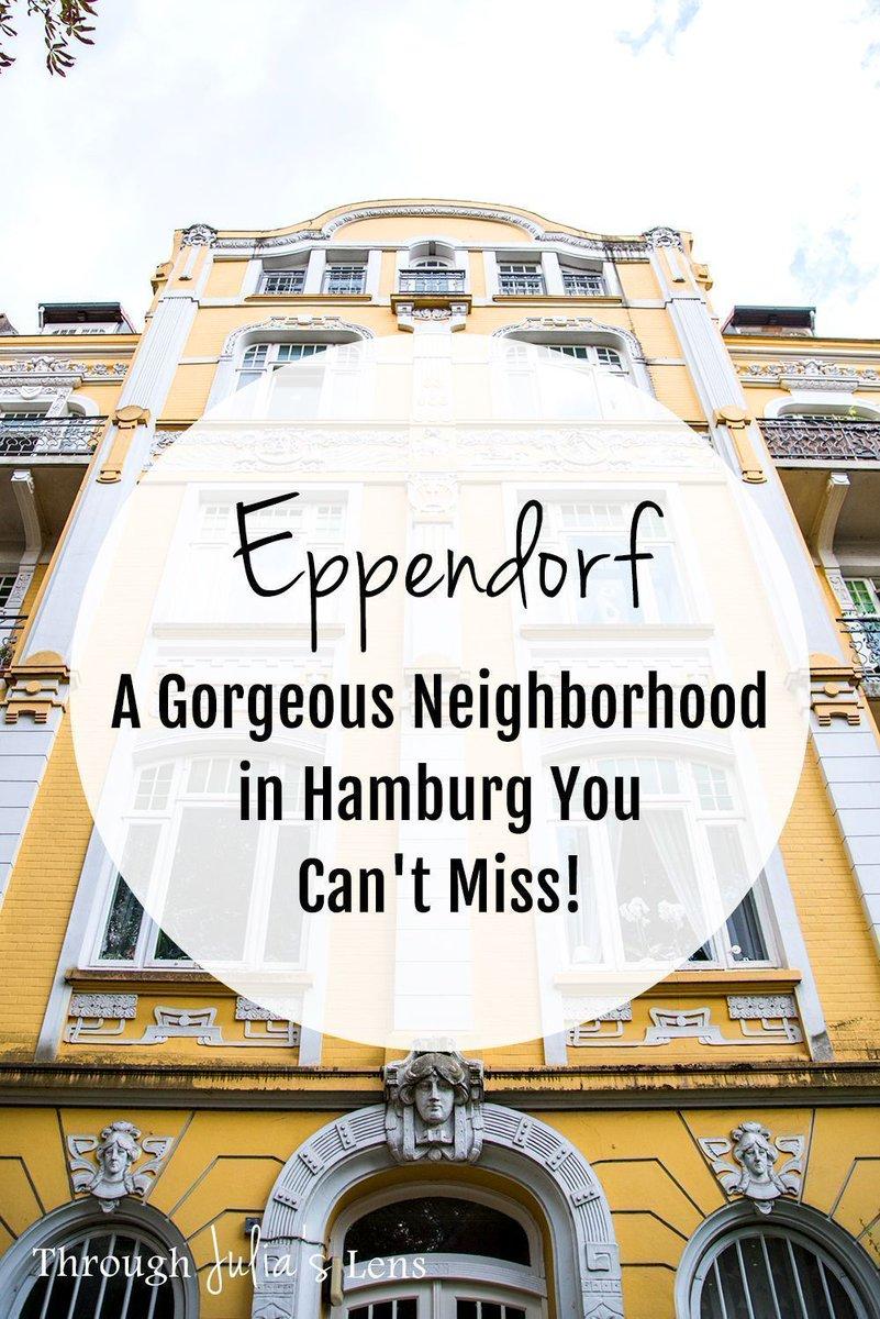 Is Eppendorf the prettiest area in #Hamburg? 😍   #Germany #travelblog #travelphotography #travel #bloggerstribe #grlpowr @BBlogRT