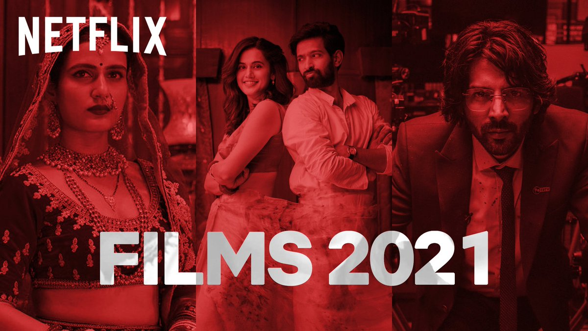 PICTURES ABHI BAAKI HAI MERE DOST!  Love, laughs, chills, thrills, spills, kills and broken dils. Presenting our menu for films in 2021.  #AbMenuMeinSabNew