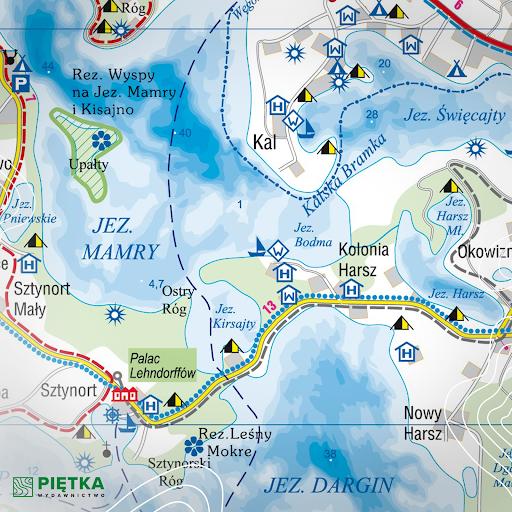 Czy wiesz, co to takiego izobata?  Izolinia łącząca punkty o jednakowej głębokości (mierzonej od powierzchni) zbiorników wodnych.  #ciekawostki #mapa #maps #podroze #travel