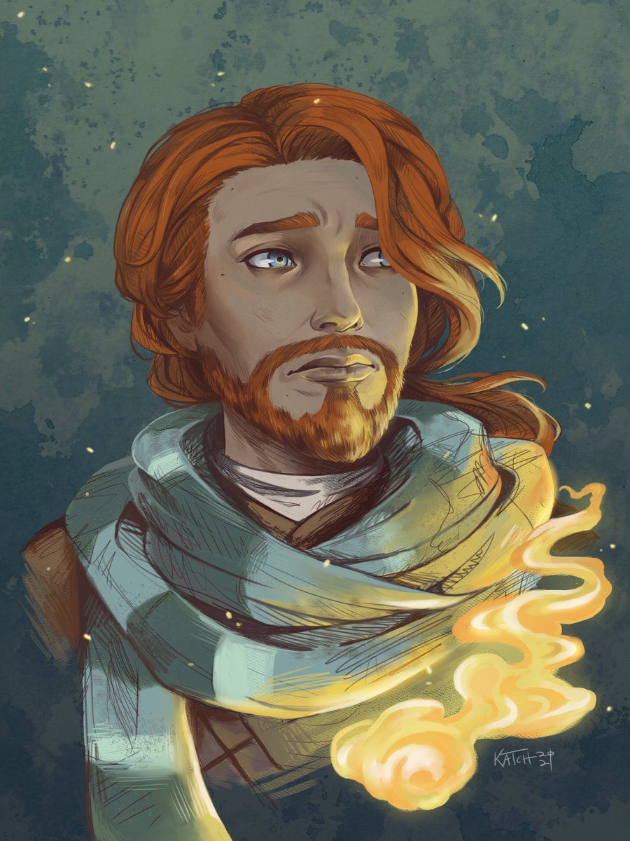 Late night disaster mage 🔥 #criticalrole #criticalrolefanart