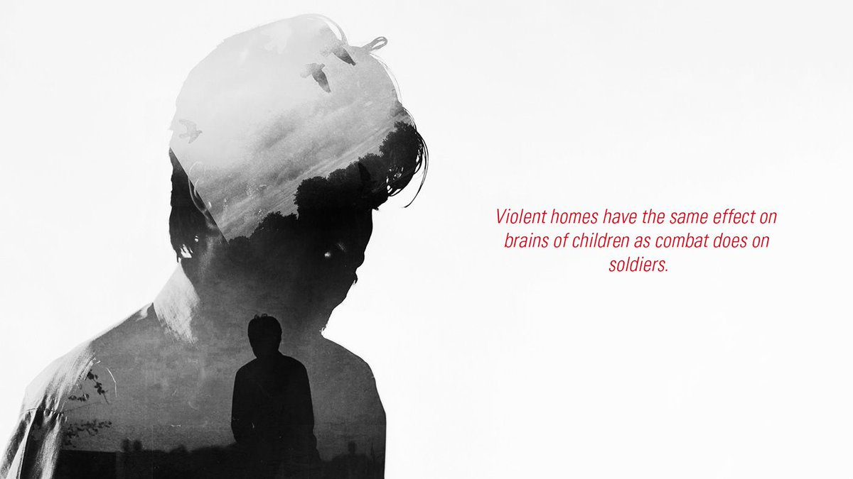 A child witnessing, hearing or living with domestic abuse, suffers the same as the victim. Statistics state they are likely to end up in abusive relationships or become an abuser. Break the cycle, there is support, change the ending 🙏 #domesticabuse #childrennotsoldiers