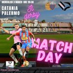 Image for the Tweet beginning: La notte del derby... ✅ CATANIA-PALERMO: